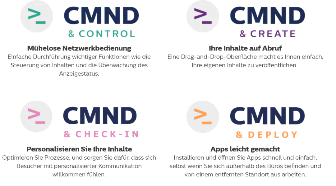 Philips CMND Command Features