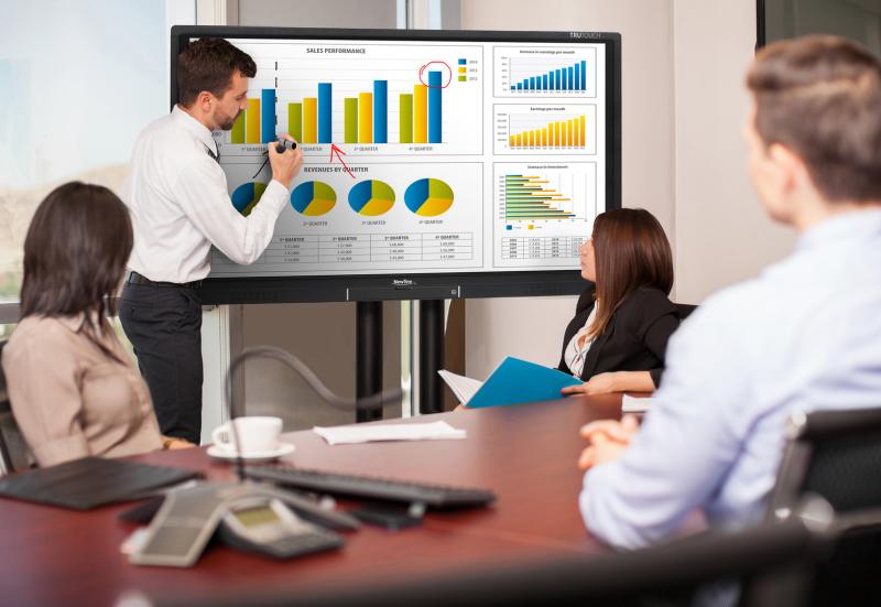 Konferenztechnik Besprechungsraum