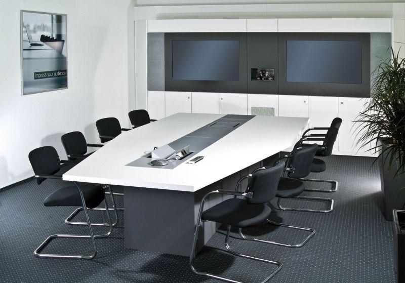 Konferenztechnik Videokonferenzraum