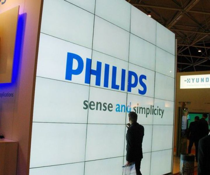 Philips Videowall Messe