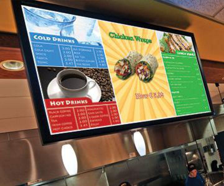 Videowall Gastronomie Oberkochen