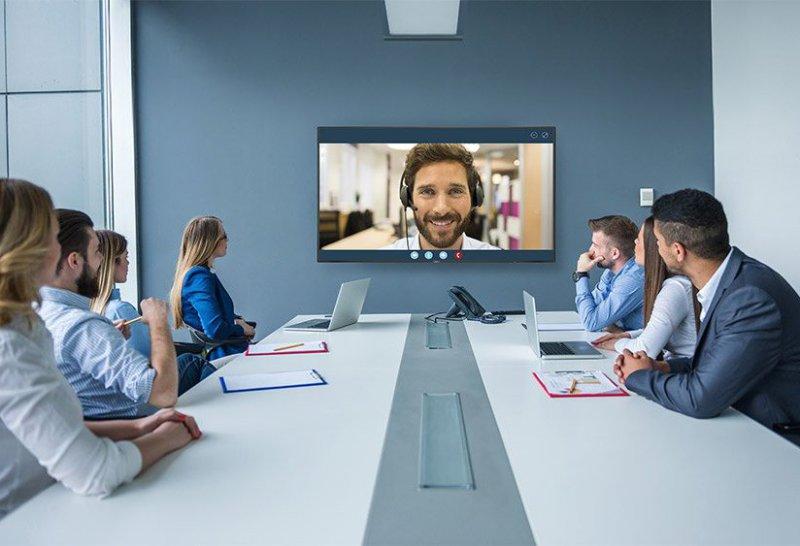 Konferenzram einrichten Videokonfeenz Poly