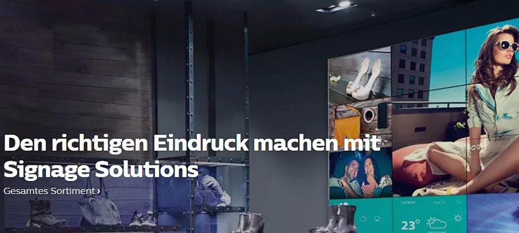 Philips Displays kaufen Bayern Baden-Württemberg