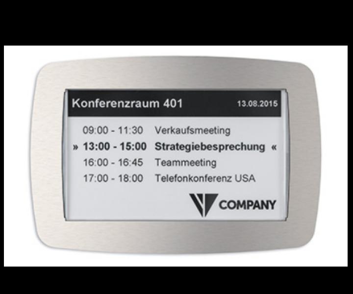 Digitales Türschild kabellos WLAN Bayern