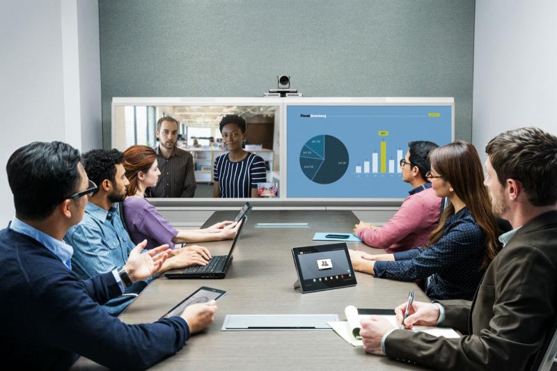 Videokonferenz Touchpanel